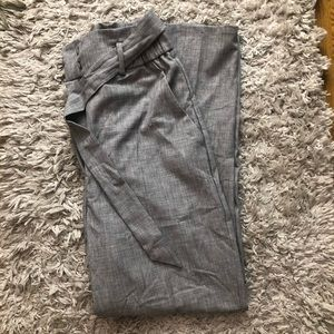 H&M Tie front Trousers
